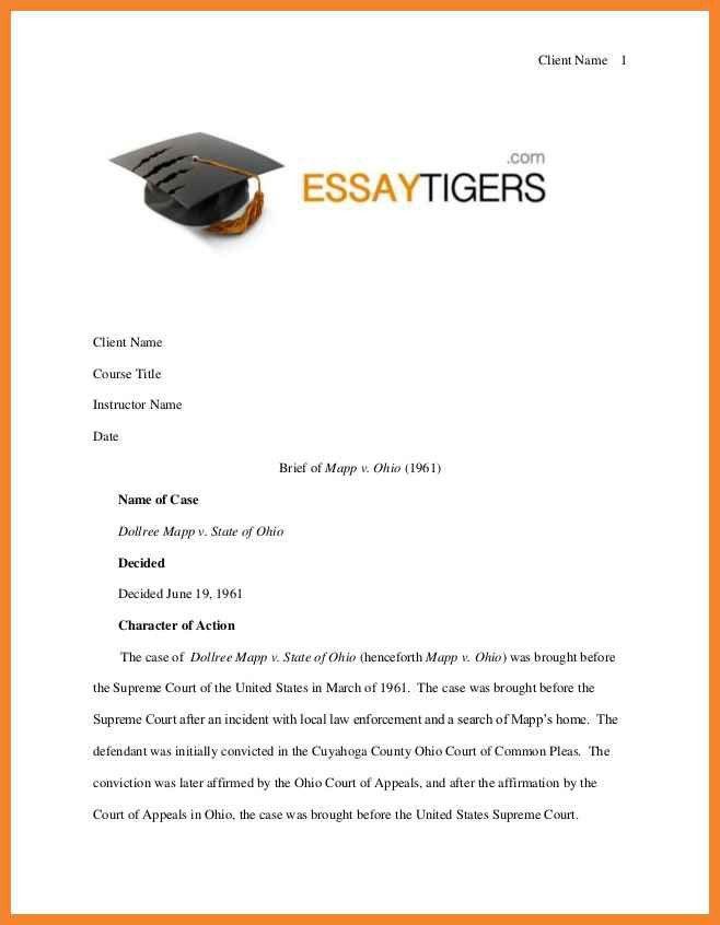sample legal brief   bio resume samples