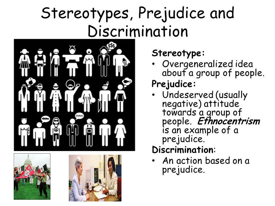stereotypes and prejudice worksheet essay Need essay sample on stereotypes and prejudice worksheet - stereotypes and prejudice worksheet introduction we will write a cheap essay sample on stereotypes and prejudice worksheet specifically for you for only $1290/page.