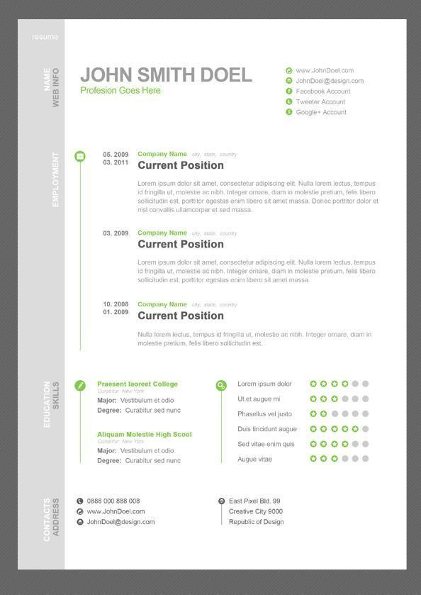 90 best CV Infographic images on Pinterest | Cv ideas, Resume ...