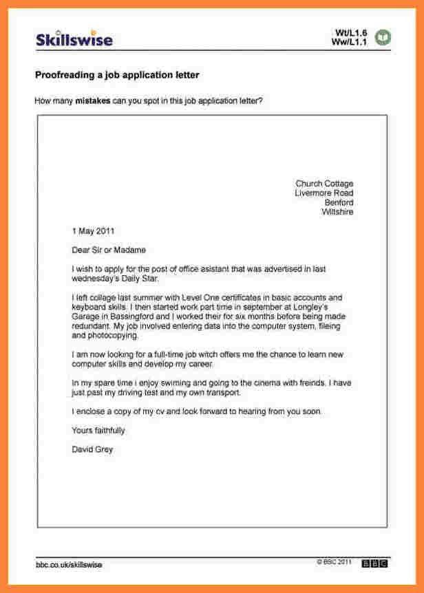 Sample Job Application Letter Pdf - Mediafoxstudio.com