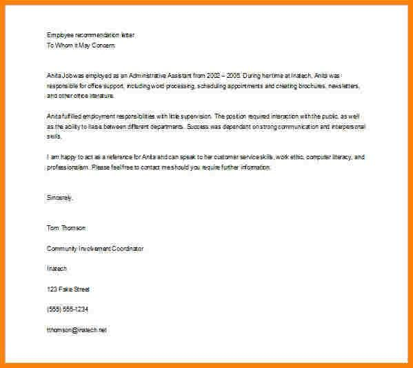 11+ simple recommendation letter | sample of invoice