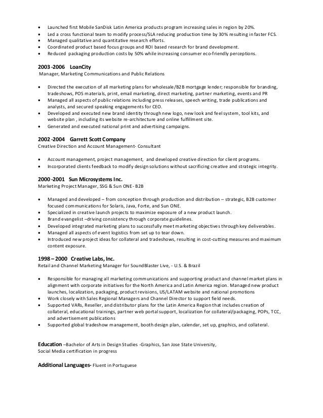 Marketing Manager Resume. Marketing Manager Resume Template ...