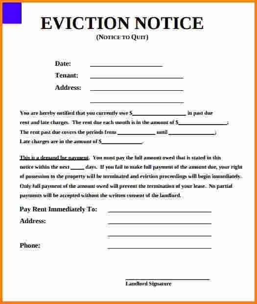 11+ eviction notice form | cashier resume
