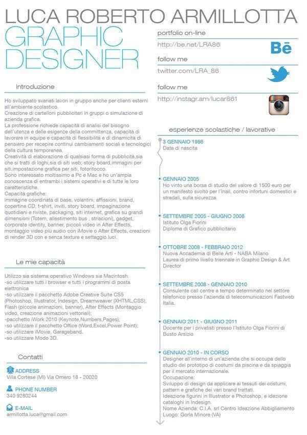 58 best CV images on Pinterest | Cv design, Resume ideas and Cv ideas