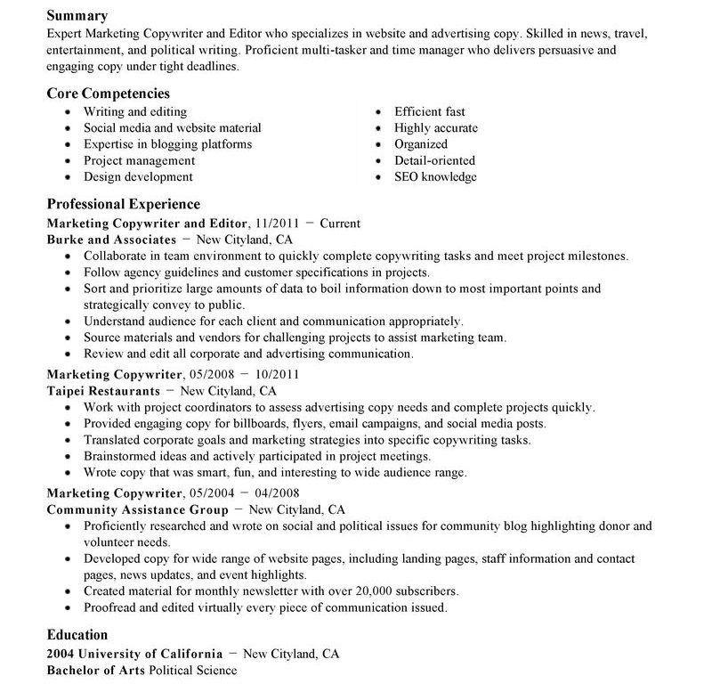 Pleasing Editor Resume Most - Resume CV Cover Letter