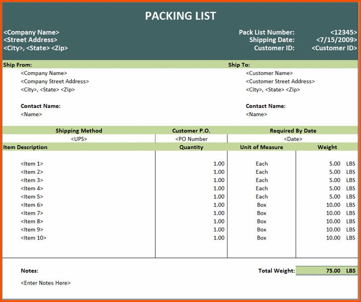 13+ travel packing list template | Survey Template Words