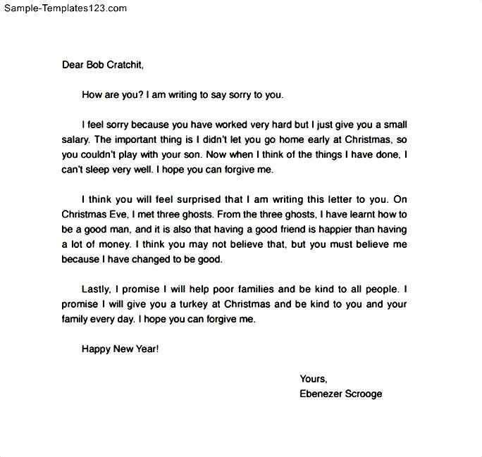 Apology Letter. How To Write An Apology Letter To A Teacher With ...