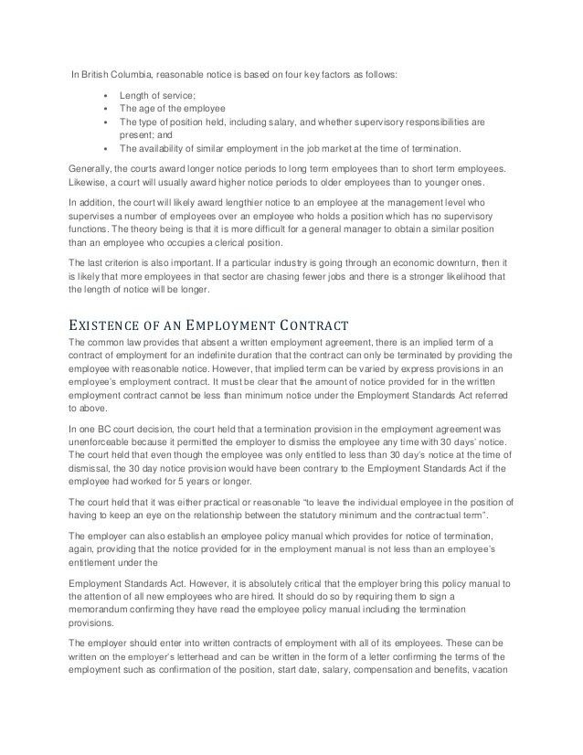 Employee Termination Letters. 35 Perfect Termination Letter ...