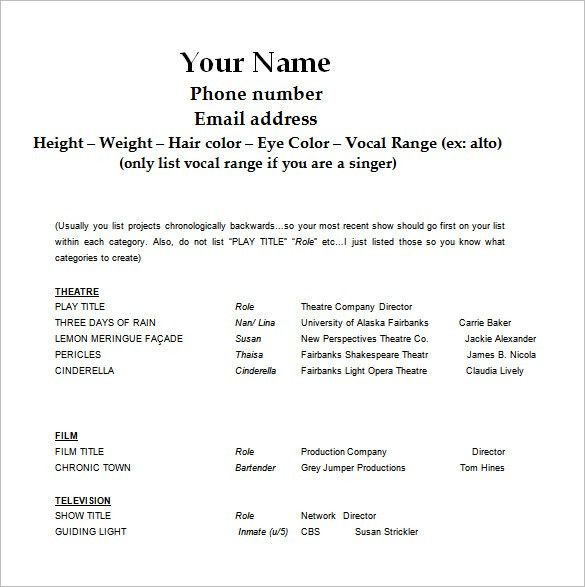 Free Downloadable Resume Templates For Word 2010. Free Resume ...