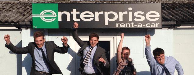 Management Trainees at Enterprise Rent-A-Car get responsibility ...