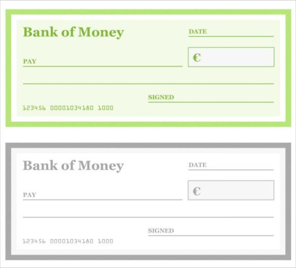presentation cheque template free download blank check template 30 ...