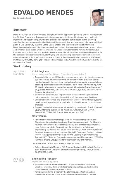 Download Mechanical Field Engineer Sample Resume ...