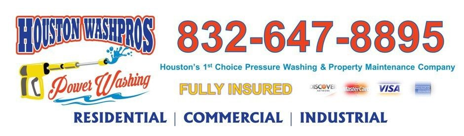 Pressure Washing Houston Flyer | Houston Roof Wash - Roof Cleaning