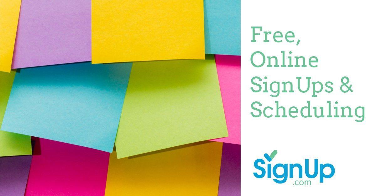 SignUp Sheets | SignUp.com