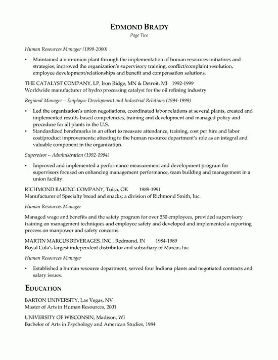 21 Best HR Resume Templates for Freshers & Experienced - WiseStep