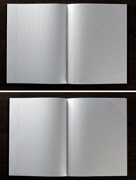 Blank Writing Notebook Lined with Pages of Inspiring Paper
