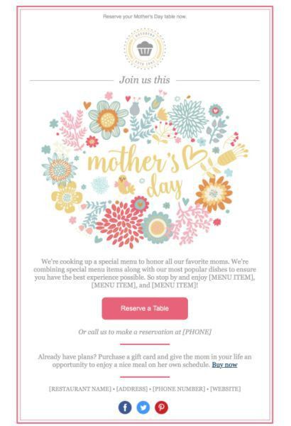 210 best Email Templates and Design Tips from Constant Contact ...