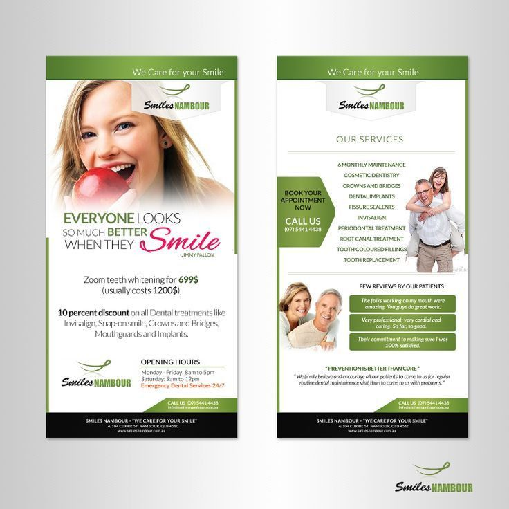 12 best Dental marketing images on Pinterest | Flyers, Flyer ...