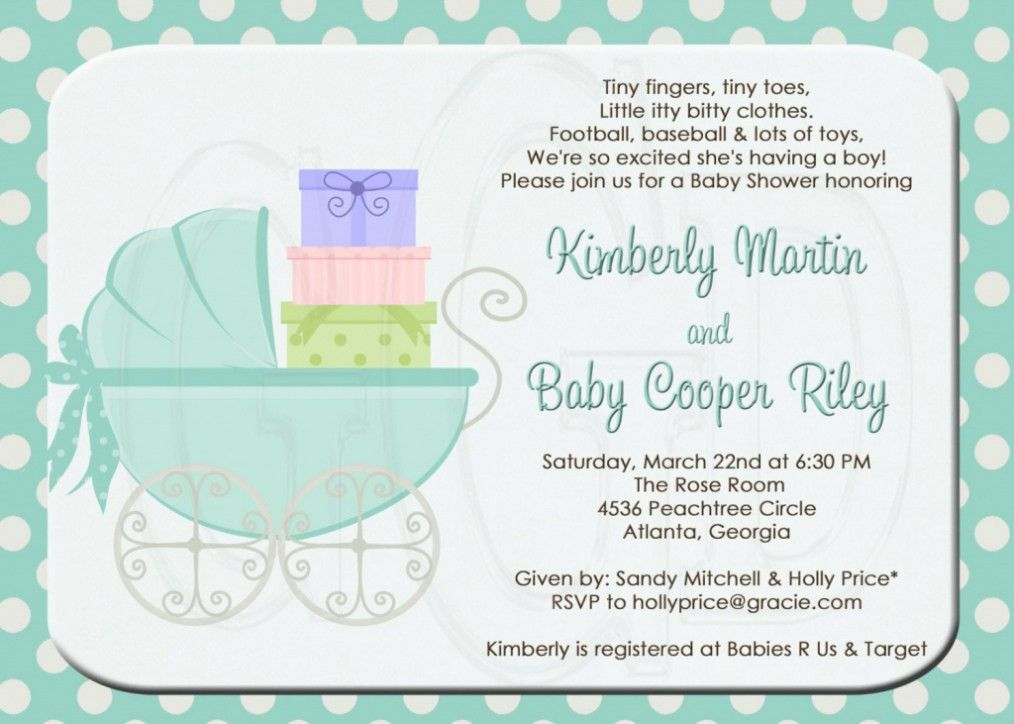 Top 17 Second Baby Shower Invitation Wording Trends In 2017 ...