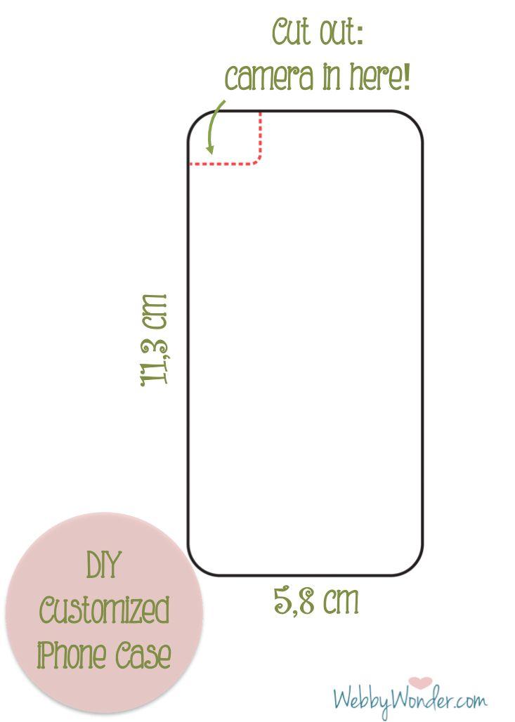 Custom DIY iPhone case | Webby Wonder