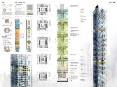 Winners of the Dubai Architecture School Tower competition