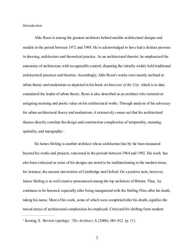 Sample Critique Essay