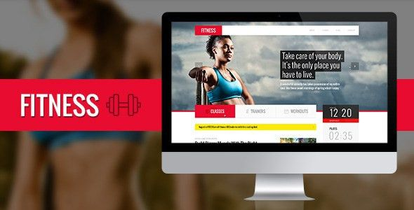 30+ Gym, Yoga, Fitness PSD Website Templates - Free & Premium