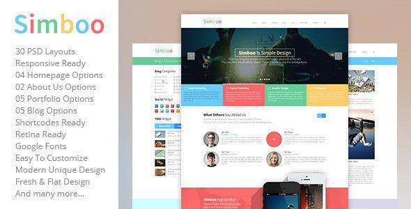 30+ Best Creative MultiPurpose PSD Templates 2014