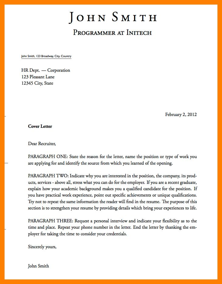 10+ cover letter heading format | authorize letter