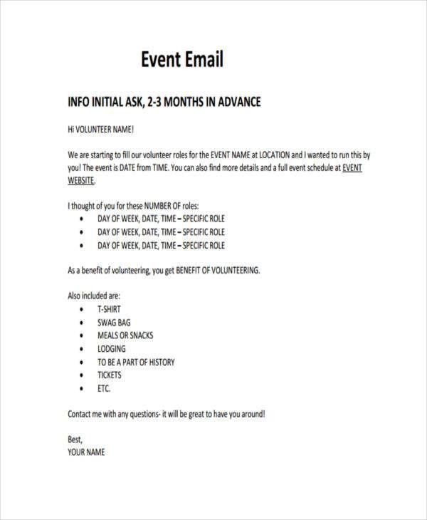 25+ Email Examples in PDF