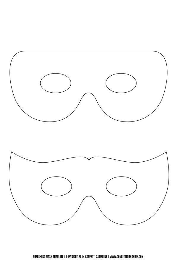 Best 25+ Mask template ideas only on Pinterest | Super hero masks ...