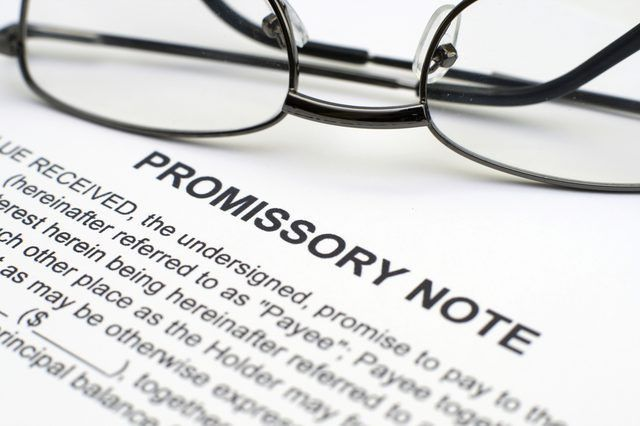 How to Download Free Promissory Note Forms | Sapling.com