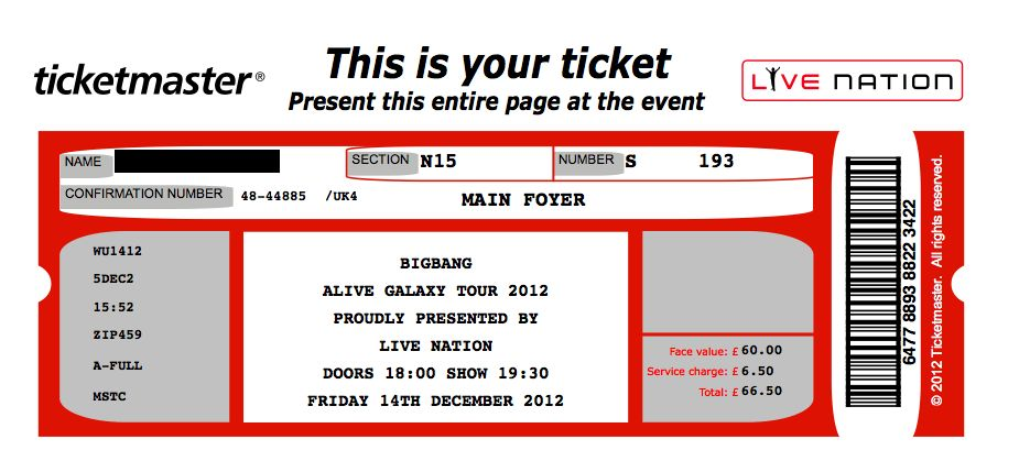 Concert Ticket Template | aplg-planetariums.org
