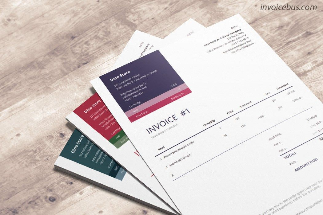 Professional Invoice Templates. How Great It Would Be If You Could ...