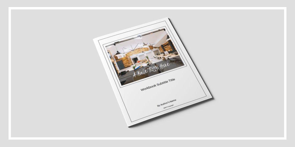 Clean Workbook Template | BMays Design