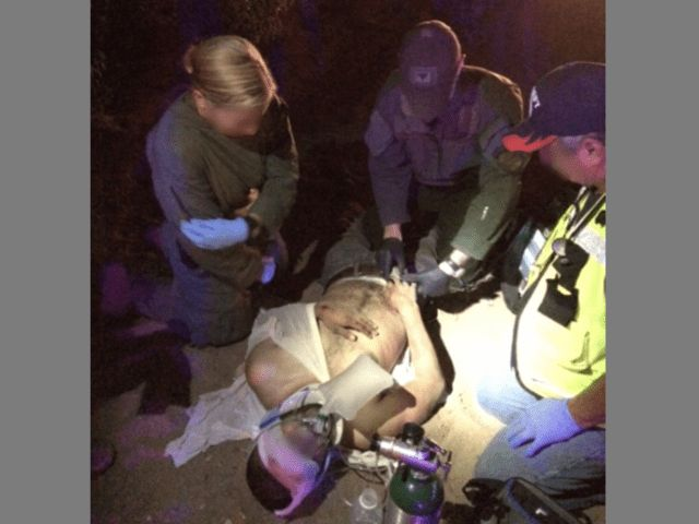 Border Patrol Agents Save Life in South Texas Car Wreck