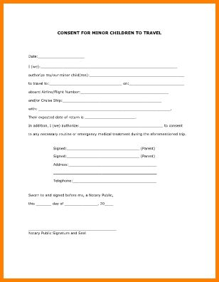 Travel Consent Form.Child Travel Consent Form.jpg - LetterHead ...