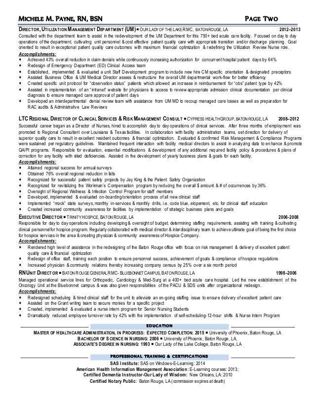 MPAYNE-RN BSN RESUME 2015