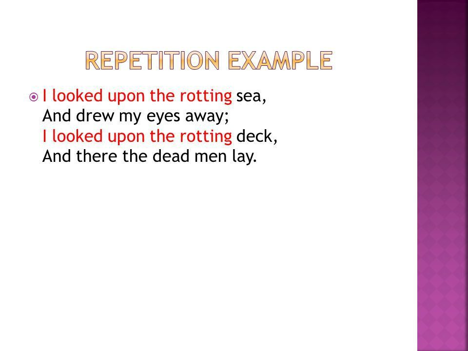 Rhyme, Rhythm & Repetition - ppt video online download