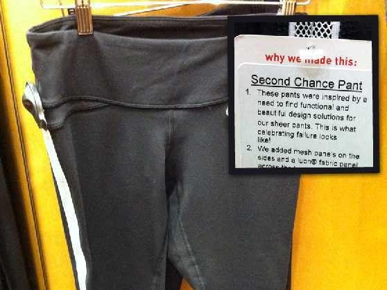 Lululemon Sells Recalled Sheer Pants - Business Insider