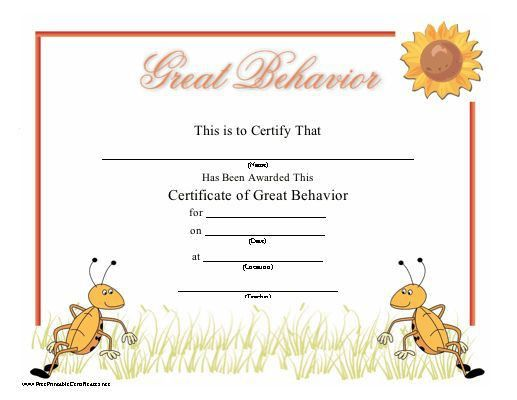 12 best awards images on Pinterest | Award certificates, Printable ...