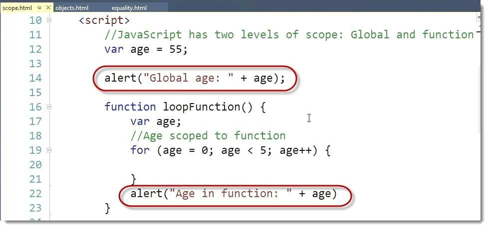 Differences between JavaScript Dynamic Syntax and C#