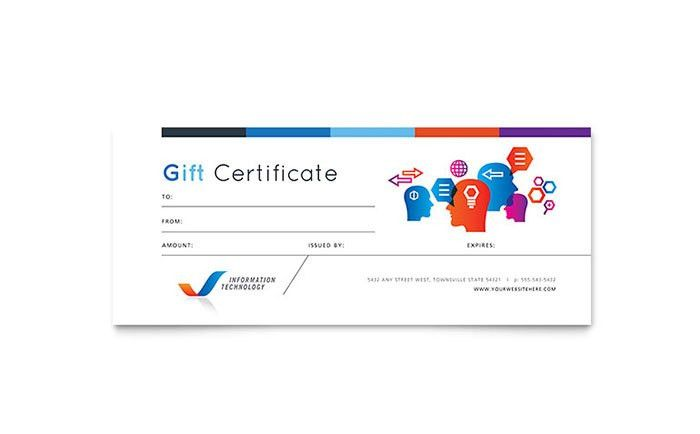 Free Gift Certificate Templates | Download Free Gift Certificate ...