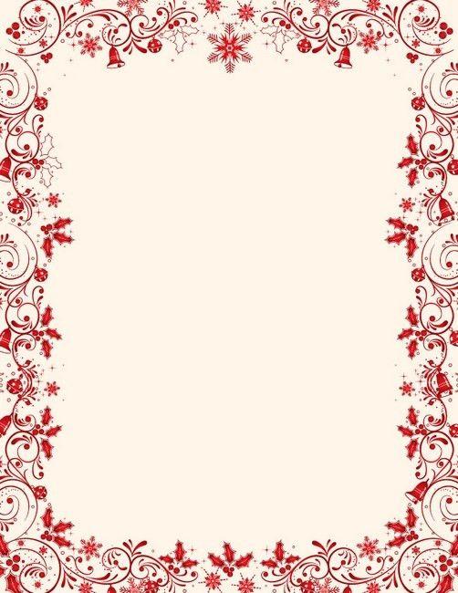 free christmas menu borders   Free Christmas Borders 020511» Clip ...