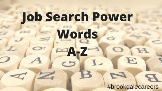 Power Words for Your Resume: An A-Z Guide | Brookdale Careers