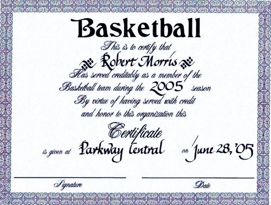 Sports Award Certificate Template | Certificate234