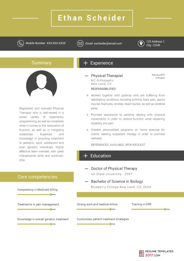 Medical Resume Template Have Professionals Useful Tips For You ...