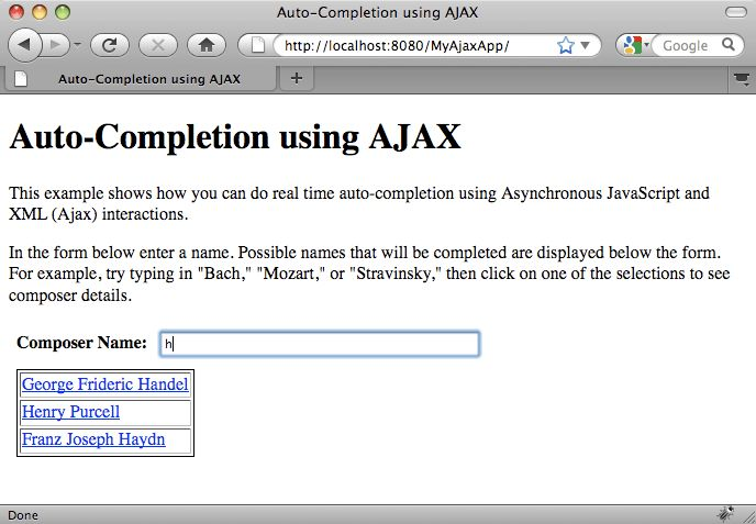 Introduction to Ajax for Java Web Applications - NetBeans IDE Tutorial