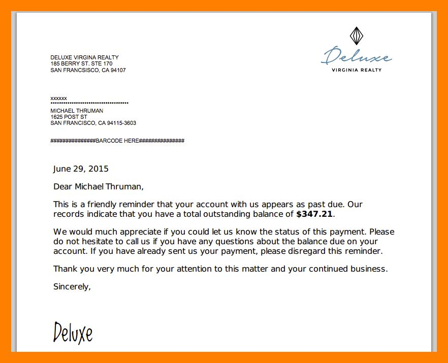 5+ sample invoice letter | appeal leter