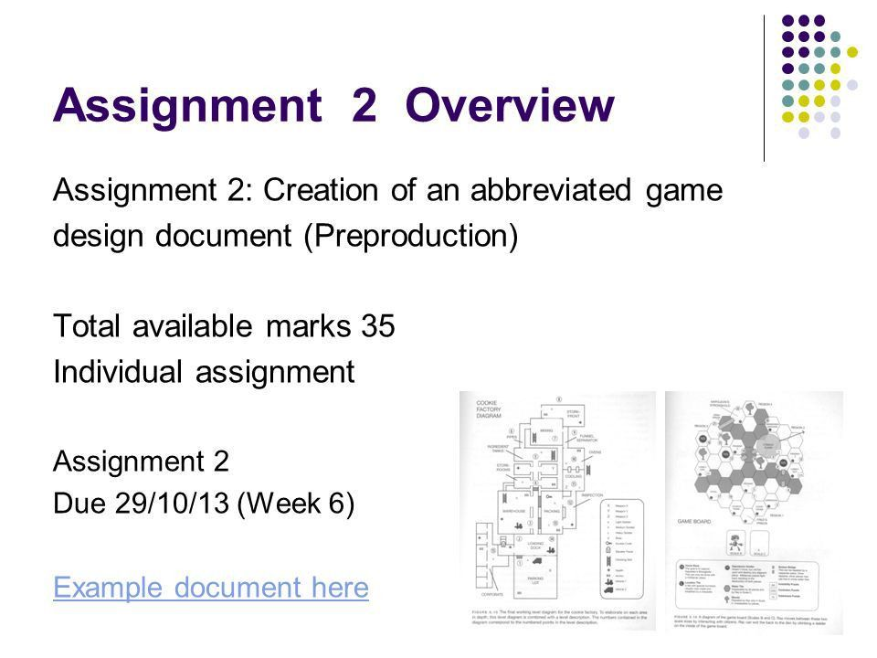 Interactive Multimedia Games Development COM631 Assignment 2 ...